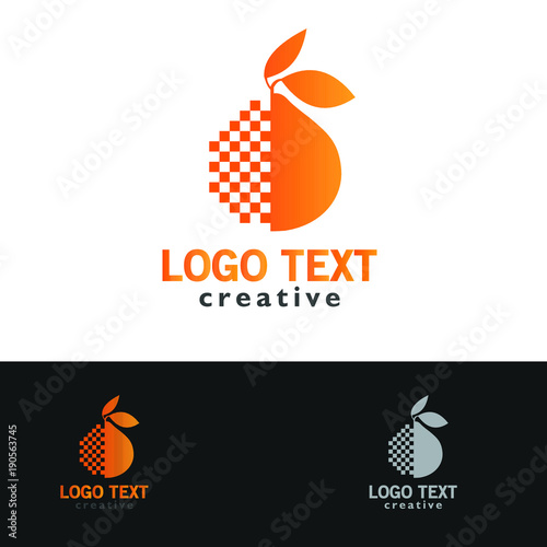 furit organic logo - 190563745