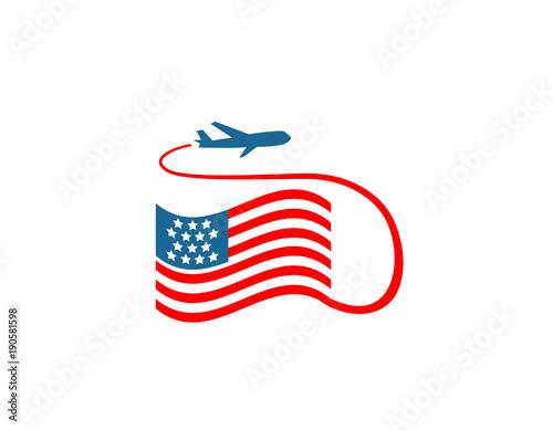 USA Travel logo