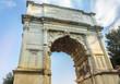 Quadro Arch of Titus, Roman Forum, Rome, Italy