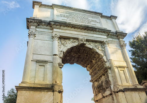 Arch of Titus, Roman Forum, Rome, Italy