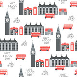London retro vector seamless pattern - 190594387