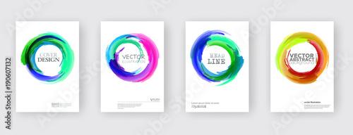Foto op Canvas Bloemen vrouw Minimal covers design