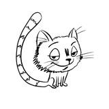 tricky cat sketch