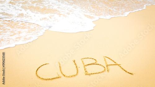 Visit Cuba concept