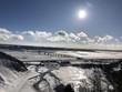 Paesaggio invernale a Québec, Canada