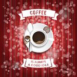 coffee poster illustration