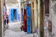 Street in the medina of Essaouira