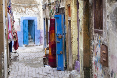 Papiers peints Maroc Street in the medina of Essaouira