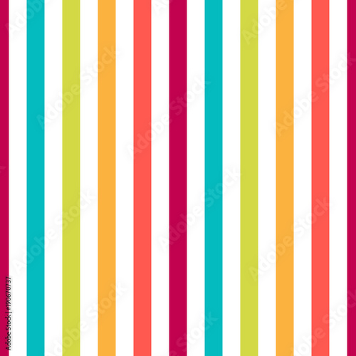 Materiał do szycia Seamless pattern stripe colorful pastel colors. Vertical pattern stripe abstract background vector illustration