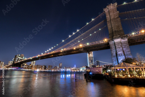 Foto op Aluminium New York ponte di brooklyn