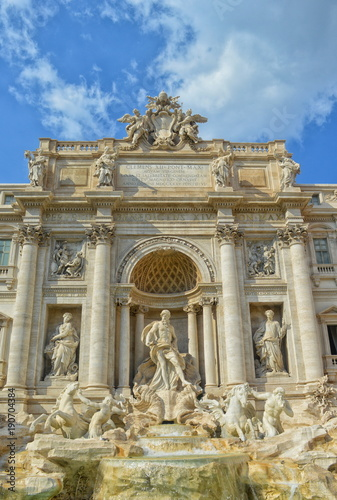 Fontana di Trevi ,Rome.Italy