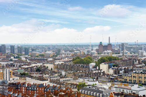 Staande foto London South London skyline