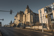 OTTAWA, ONTARIO / CANADA - JANUARY 28  2018: PARLIAMENT BUILDINGS IN DOWNTOWN OF OTTAWA