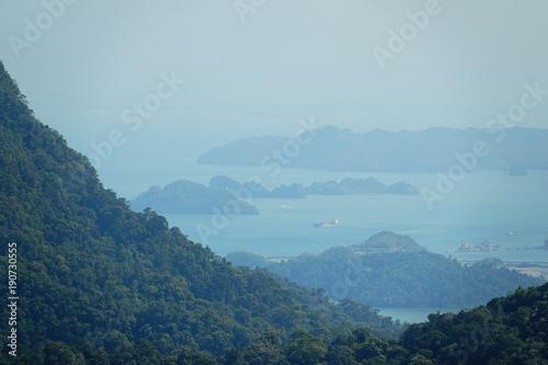 Fotobehang Pool Malaysia Langkawi Island Viewpoint Skycab