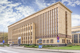 KRAKOW, POLAND - APRIL 09, 2017:  The Jagiellonian University library