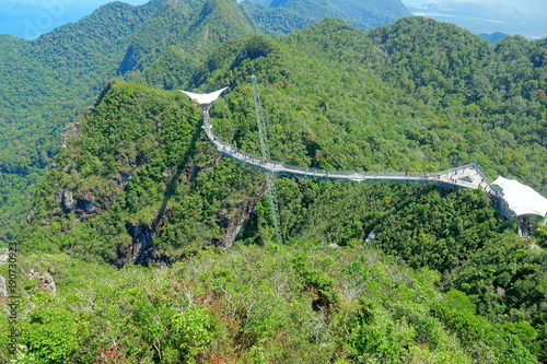 Fotobehang Olijf Malaysia Langkawi Island Viewpoint Skycab