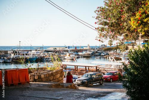 Fotobehang Schip Lebanon