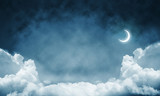 Wallpaper of cloud night skyscape. - 190753940