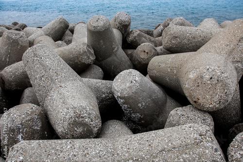 Wellenbrecher, Tetrapoden