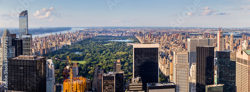 Staande foto New York Panoramic Aerial View of Central Park in Ney York