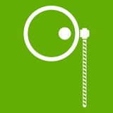 Monocle icon green - 190791770