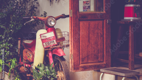 Plexiglas Fiets Vintage Motorcycle Collection