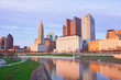 Spring is beautiful in Columbus, Ohio along the Scioto River.  Enjoy the waterfront view from the Scioto Mile park.