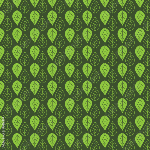 Leaf pattern background © Kirsty Pargeter