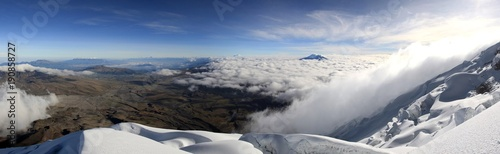Papiers peints Photos panoramiques Volcano Cotopaxi Ecuador