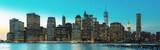 Evening New York City skyline panorama - 190865998
