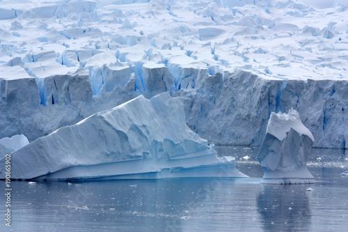 Fotobehang Antarctica Gletscher Antarktis