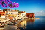 habour of Chania, Crete, Greece - 190874337