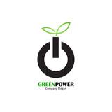 Green power logo - 190893107
