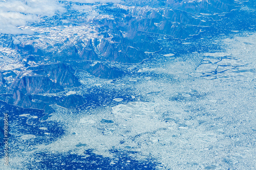 Foto op Aluminium Blauw A Frozen Landscape