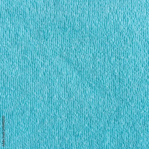 Blue natural cotton towel background texture