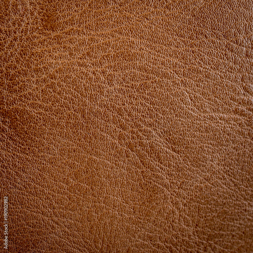 Close up brown leather texture and background