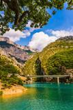 The picturesque Verdon Gorge