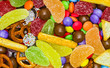 Bunte Süßigkeitenmischung