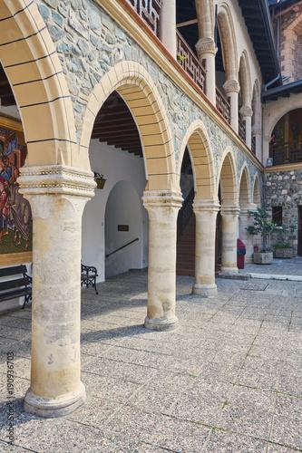 Fotobehang Cyprus Monastery of the Virgin of Kykkos in Troodos mountains, Cyprus.