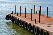 Dock With Tires