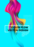 Modern colorful flow...