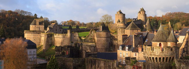 Château de Fougères, Bretagne