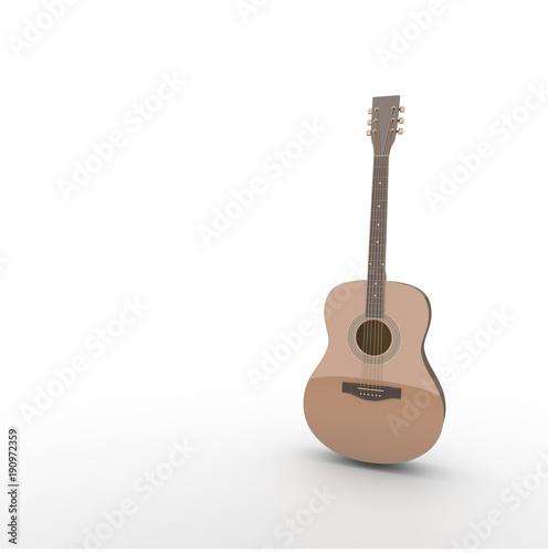 アコースティックギターの3dのイラスト Buy Photos Ap Images