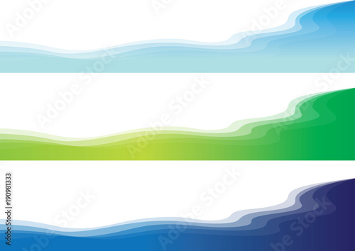 Foto op Plexiglas Abstract wave colorful background