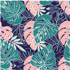 wallpapers tropical leaves