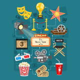 Cinema and Movie Infographics - 191008104