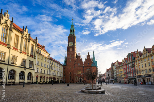 City Hall of Wroclaw