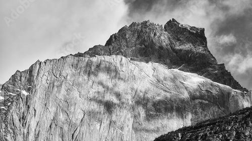 Cuernos del Paine rock formations, Chile.