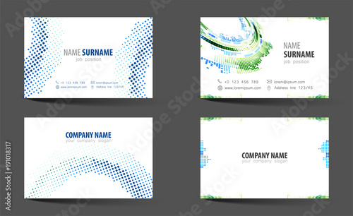 creative double sided business card template buy photos ap