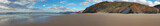 Panorama from a remote beach at praia Vale Figueiras in Portugal